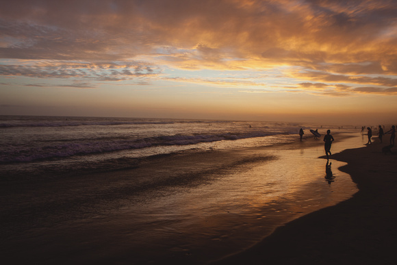 Leon Cato Photography Original Fine Art Prints Sunset At Huntington Beach